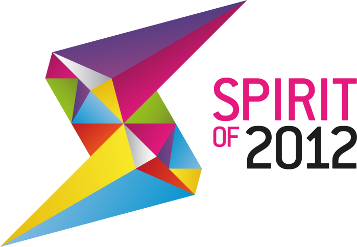 Spirit of 2012 Colour Landscape Logo